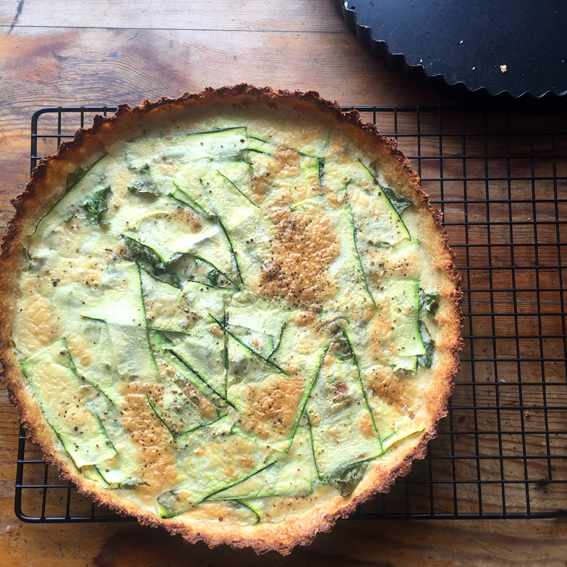 WELL HARD RECIPE OF THE MONTH: Cauliflower & Coconut tart