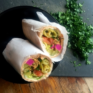 HOUMOUS WEEK: Lebanese Wraps