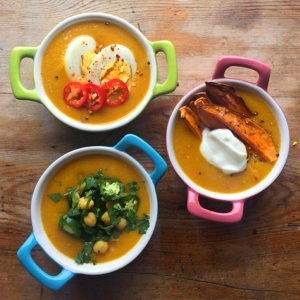 Spicy Carrot & Lentil Soup