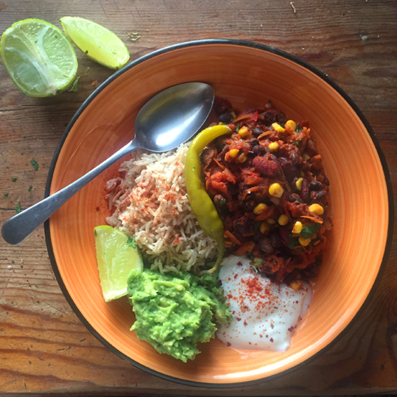 Smokey Black Bean Chilli