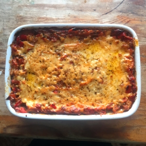My Mums Red Pepper Lasagne