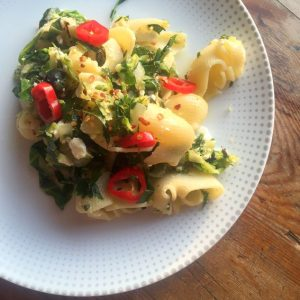 Courgette & Spring Green Lumaconi