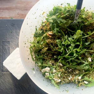 Herb & Rocket Couscous with Feta