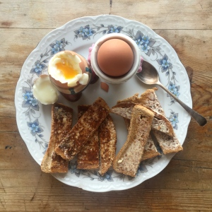 Perfect Soft Boiled Eggs & Soldiers