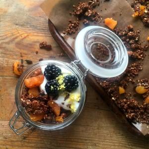 Apricot & Chocolate Granola