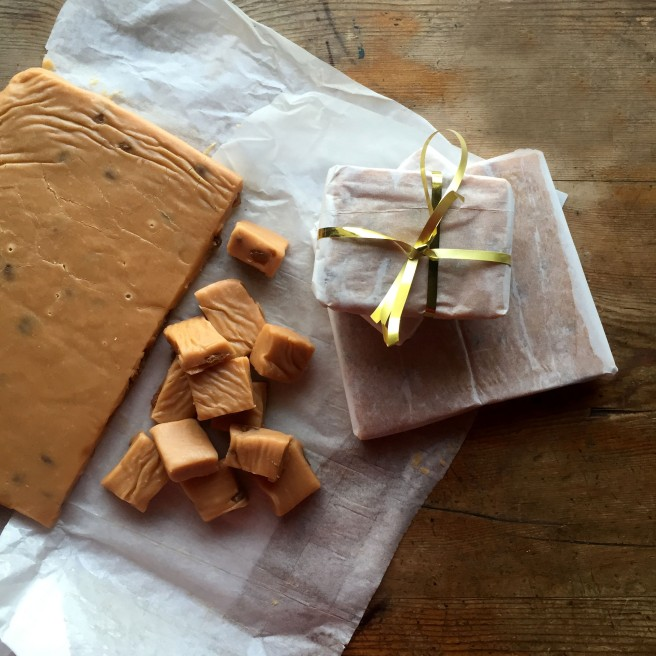 Salted Sultana & Rum Fudge