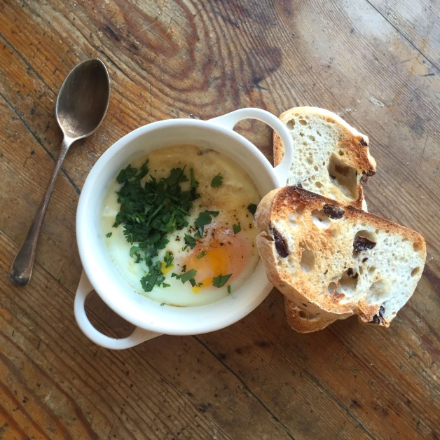 Potted Swiss Eggs
