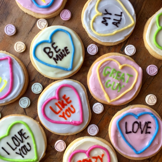 HEAT COOKS THE BOOKS: Juliet Sears Loveheart Cookies