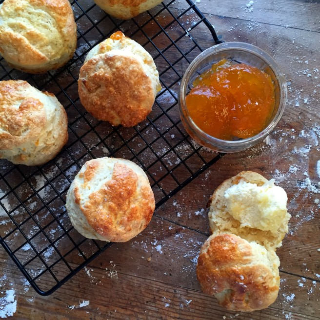 Mothers Day Apricot Scones
