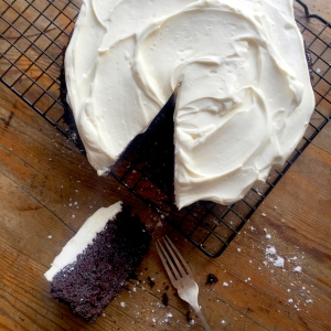 St Patrick's Day Chocolate Guinness Cake