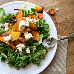Winter Root Vegetable Salad