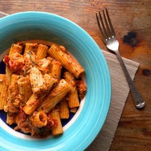 Jamie's Feta & Cherry Tomato Rigatoni