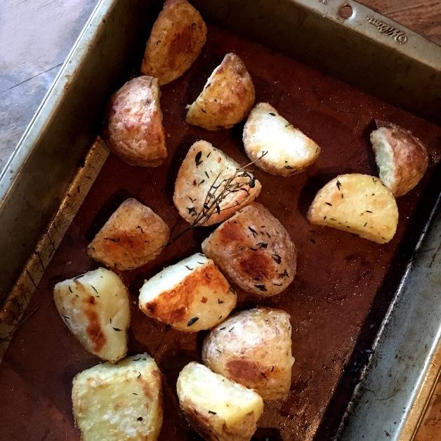 light & Crispy Roast Potatoes