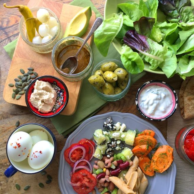 Homemade Salad Boxes