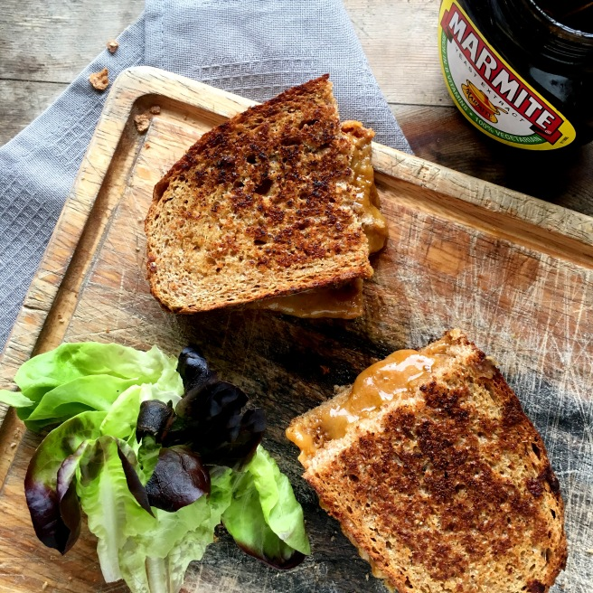 Marmite Grilled Cheese
