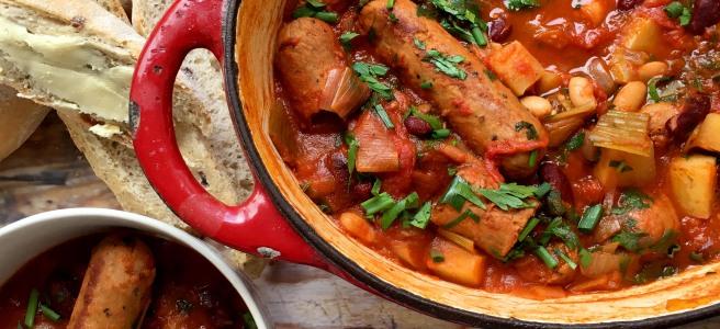 Sausage Hot Pot