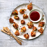 Bang bang cauliflower bites